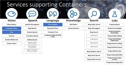 그림 2 마이크로소프트 애저의 지능형 엣지를 위한 컨테이너 서비스